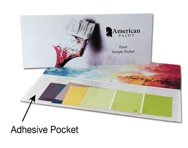 clear adhesive pockets