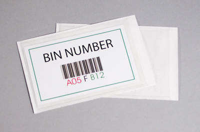 Bin Label Holder