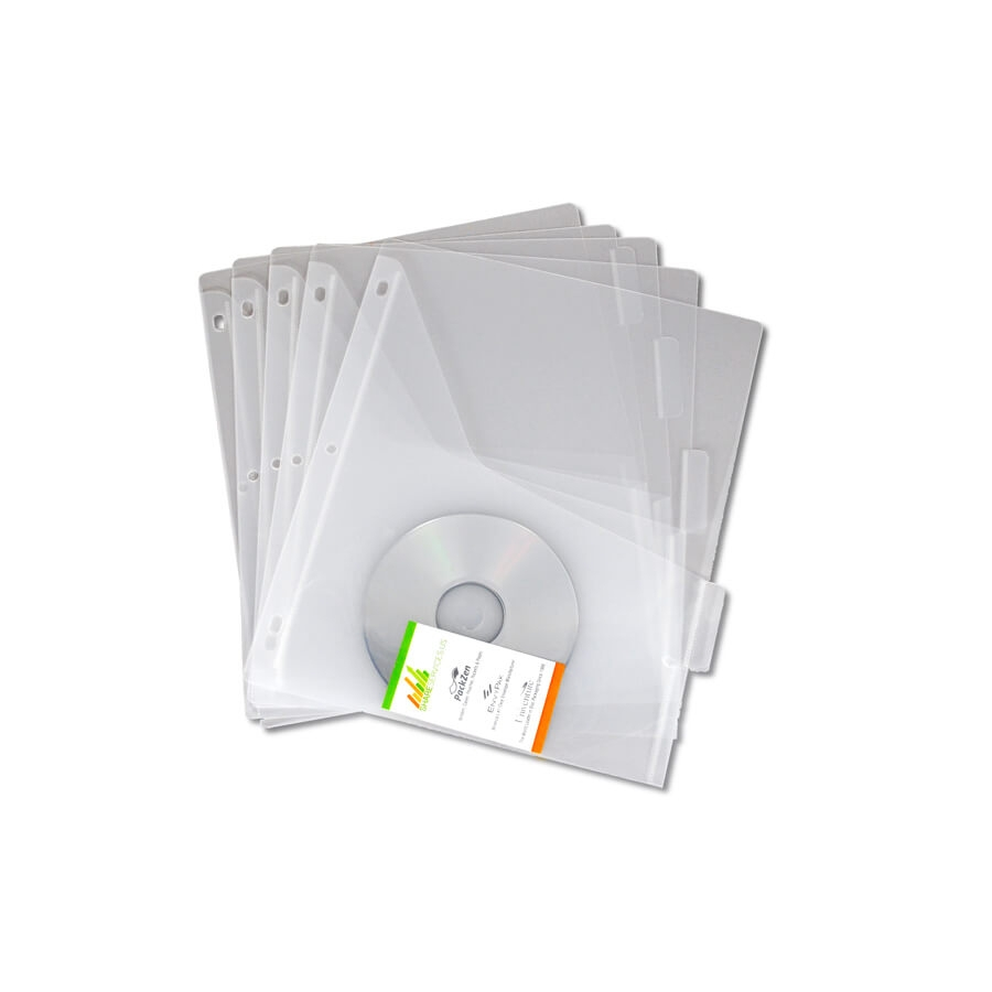 Plastic Binder Divider Pages