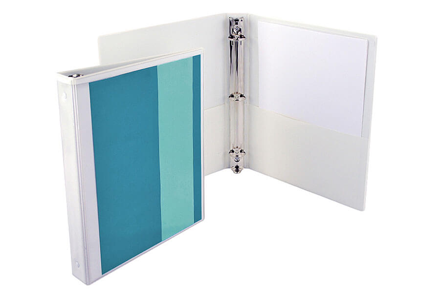 1 inch binder 3 ring binders in different colors packzen for Home construction binder