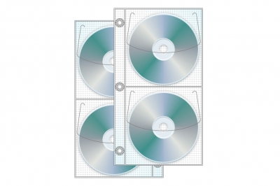 4 Disc Half Binder CD/DVD page