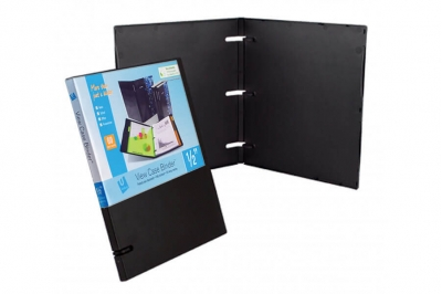 3 ring binders_Black