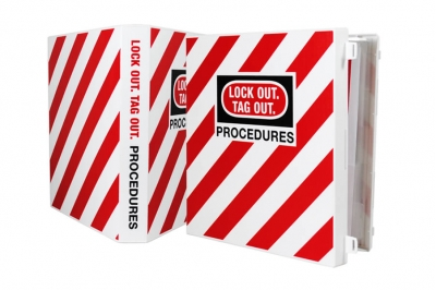 Lock-out Tag-out binder