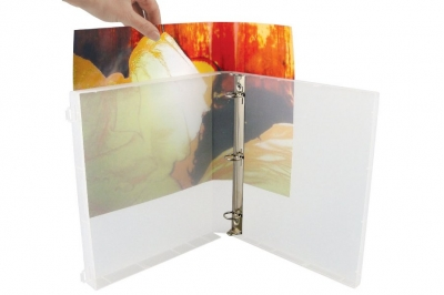 View Binder - 1.5 INCH METAL RINGS