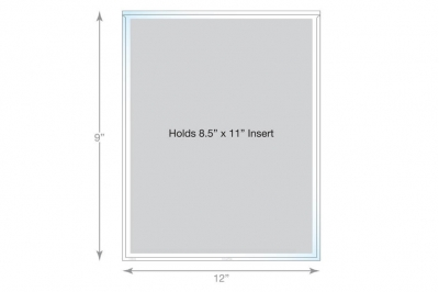 Adhesive Page Holder - Letter Size
