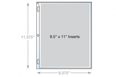 Sheet Protector Dimensions