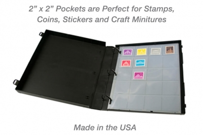 Pocket Stamp and Coin Page Protector