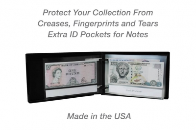 Mini Currency Page Protector
